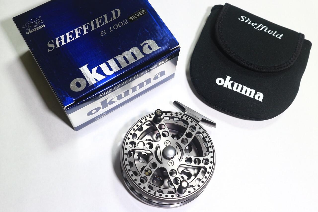 OKUMA sheffield centre-pin reel