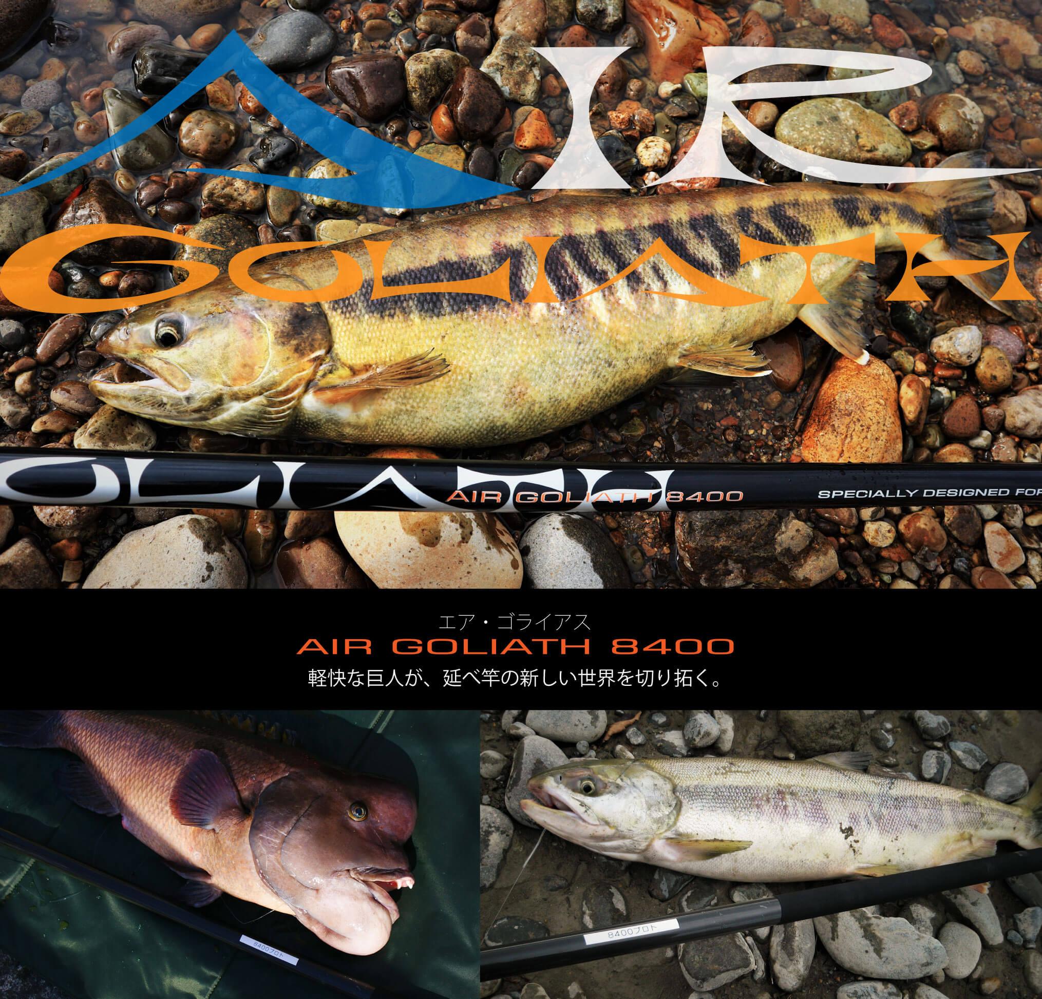 鮭竿 エアゴライアス