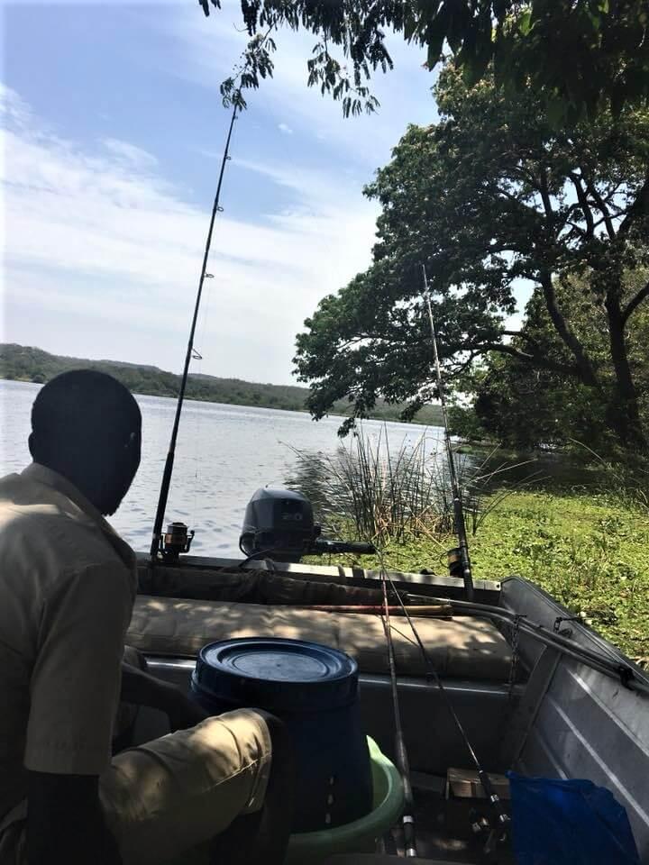 ナイルパーチ釣り